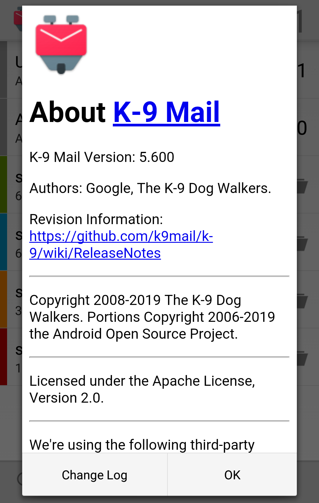 k9mail ( K-9 Mail )
