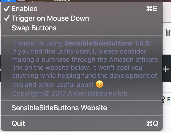 sensible-side-buttons - Bountysource