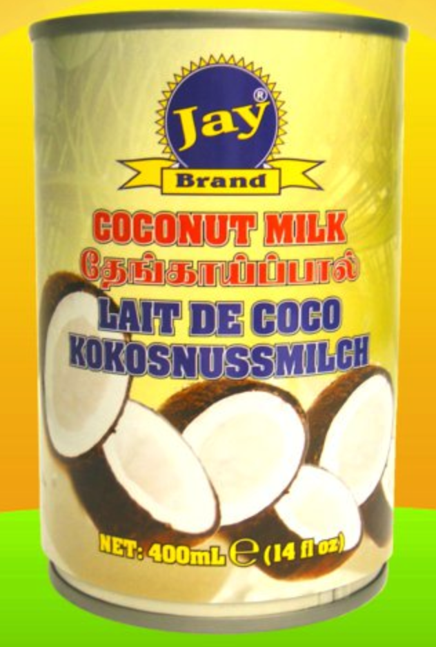 Jay Coconut Milk 3 For £2 400ml