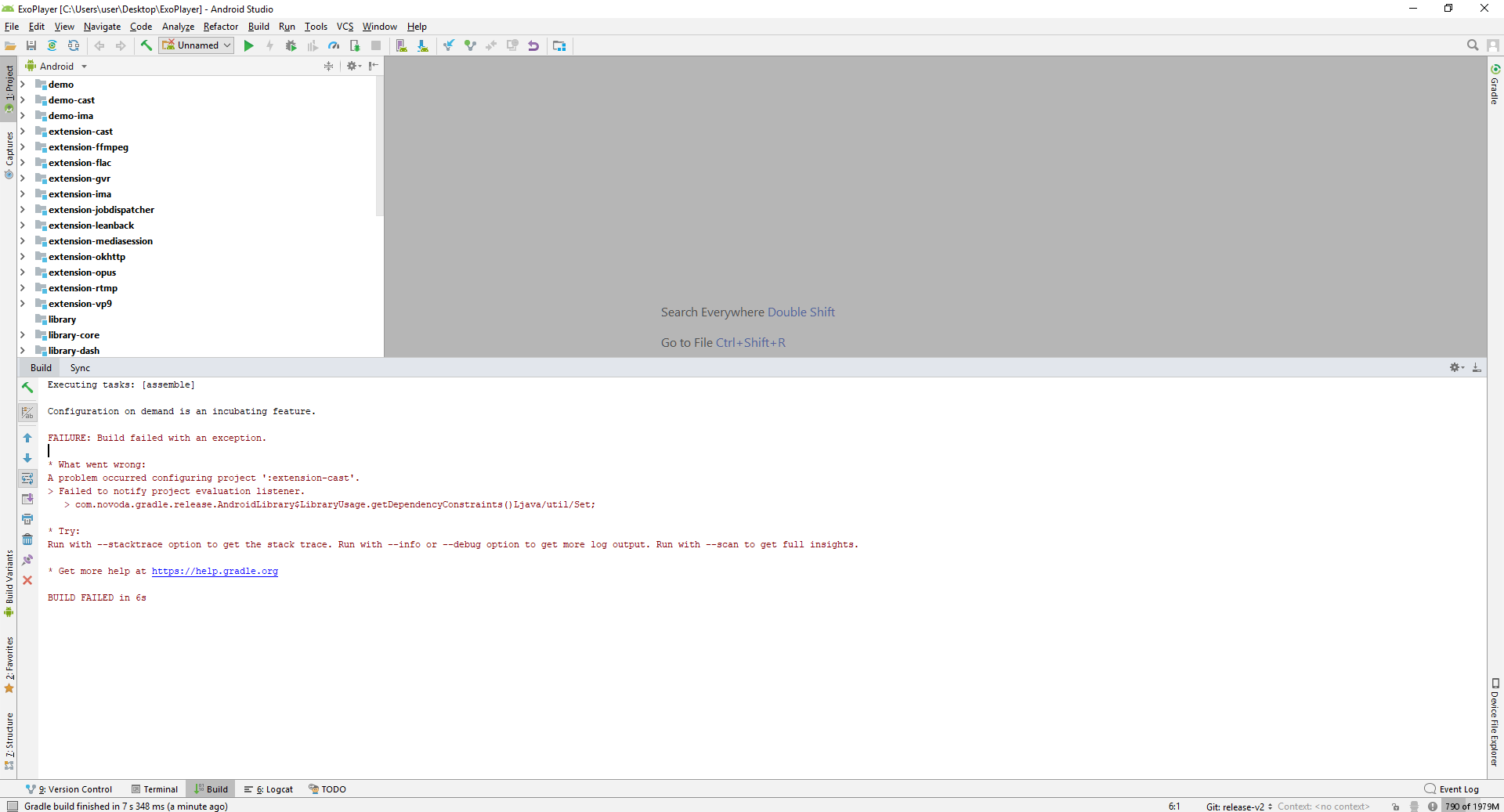 Can't import · Issue #4248 · google/ExoPlayer · GitHub