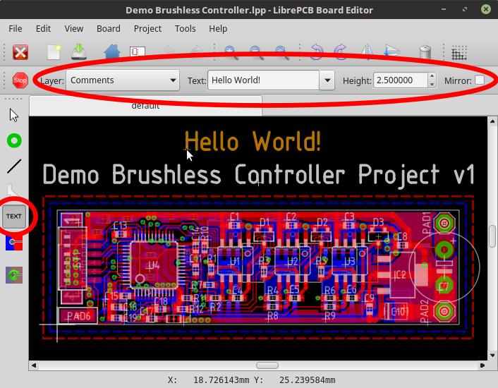 demo brushless controller lpp - librepcb board editor_021
