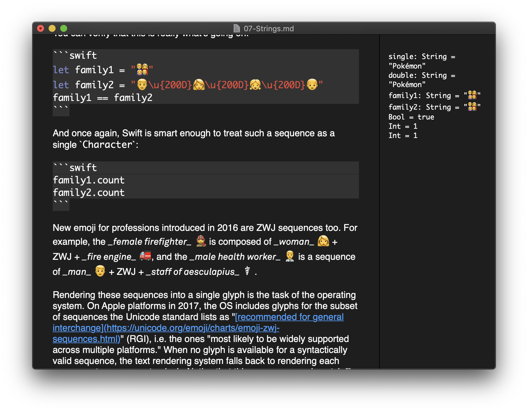 🎰Markdown Playgrounds for Swift