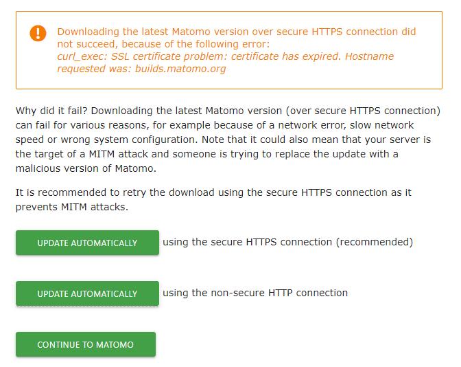 matomo-update-ssl-issue