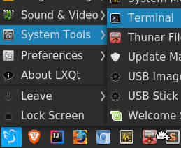 Cant Make Panel Shortcut For Terminal Issue 1310 Lxqt