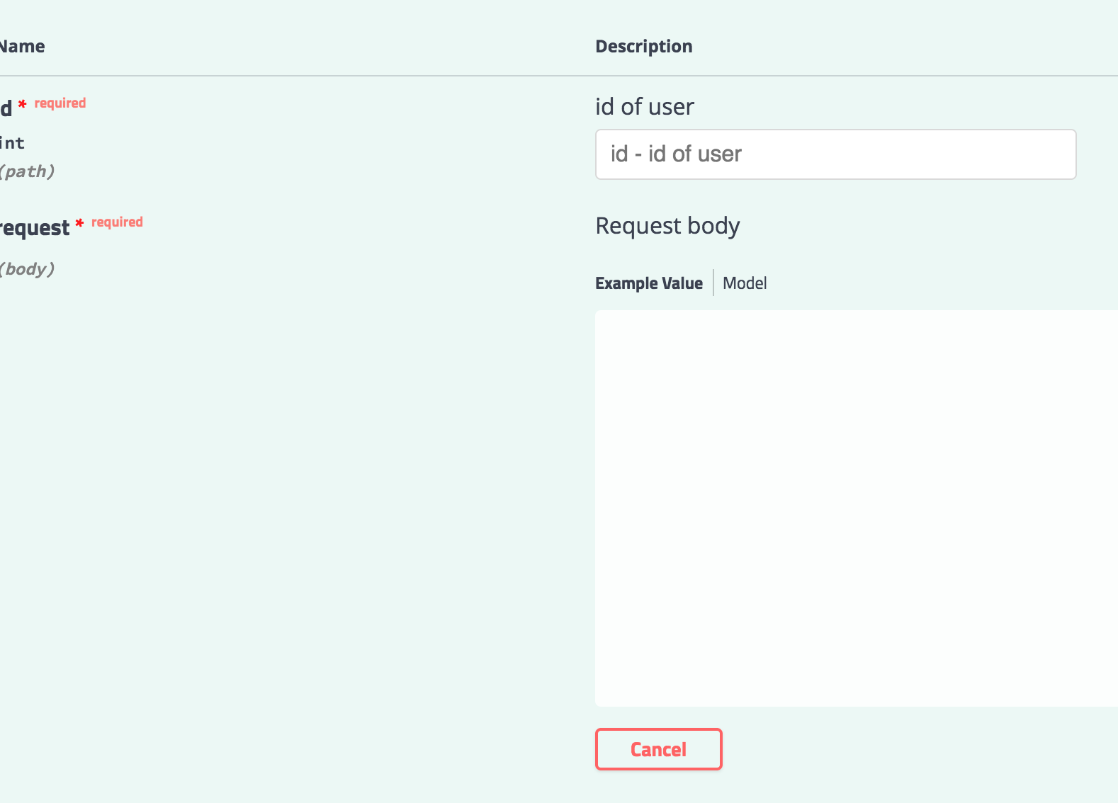Path parameter with request body · Issue #1523 · go-swagger