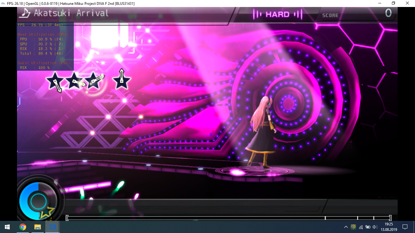 performance lost in Project DIVA F & F 2nd · Issue #6341