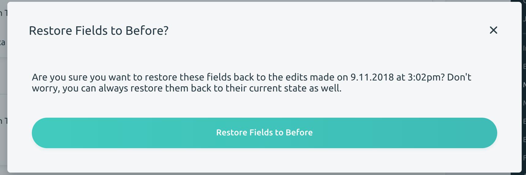 Restore Fields to Before Modal Update · Issue #290 · matrix-msu