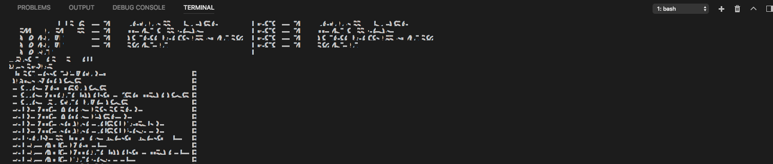 Weird Symbols In Terminal Output When Resizing Issue 41880