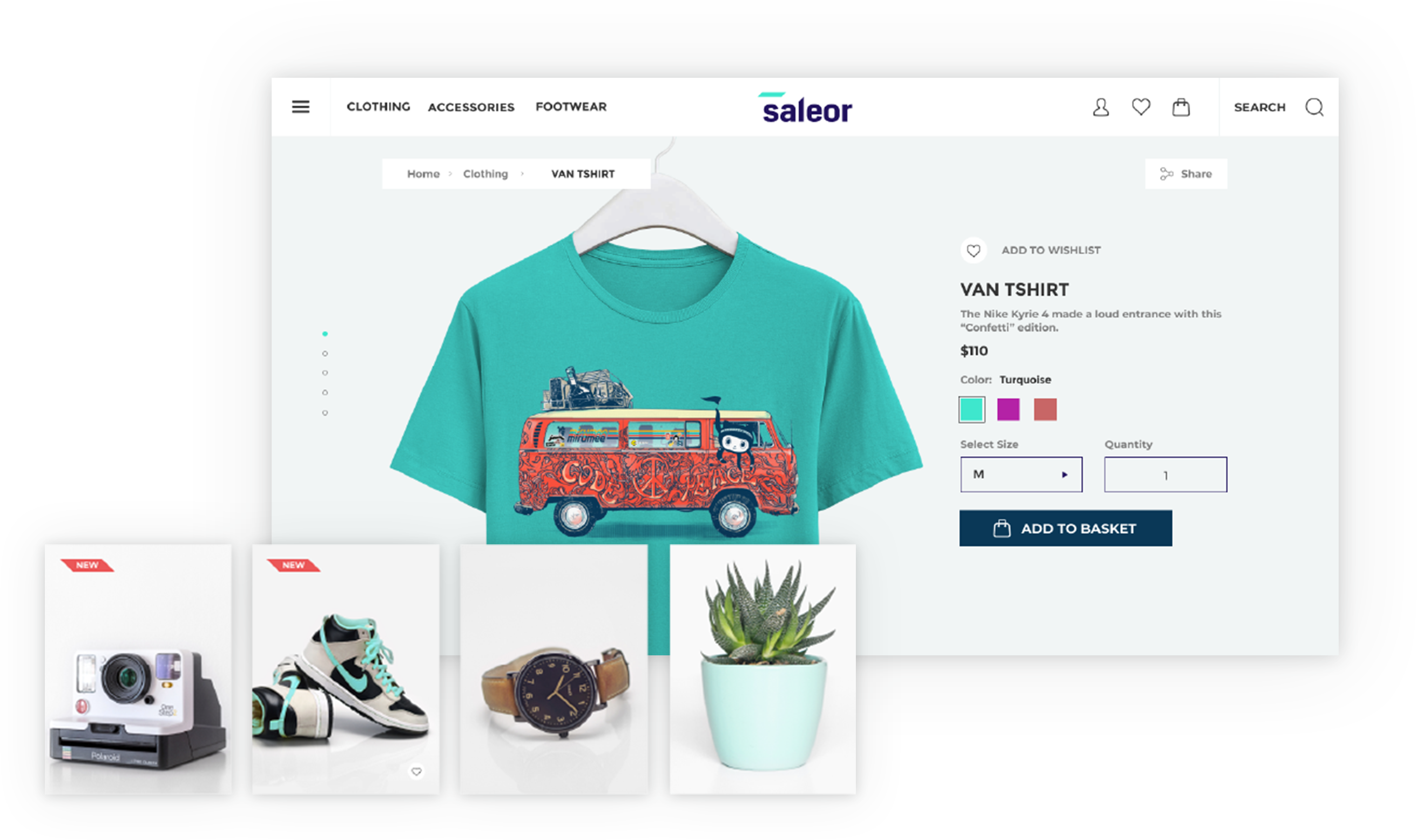 Saleor – High Performance E-commerce Storefront Built with Python, GraphQL, Django, and ReactJS