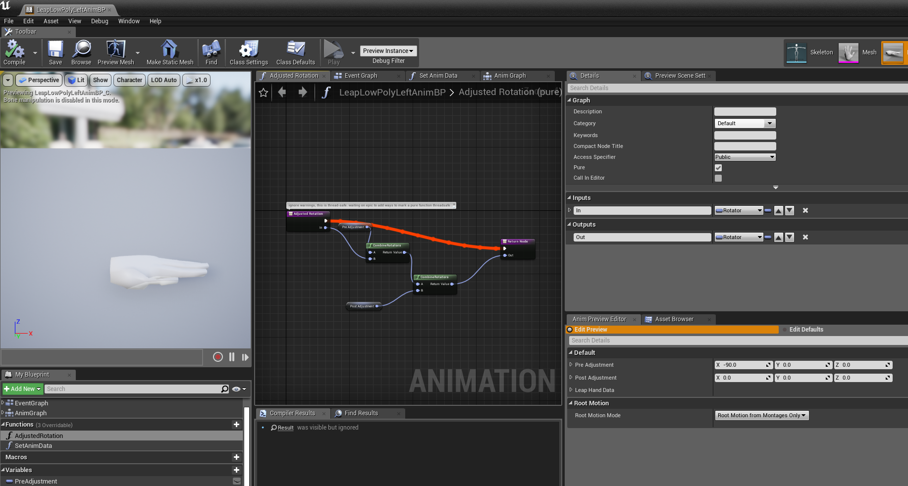 Make custom rigging example video · Issue #35 · leapmotion