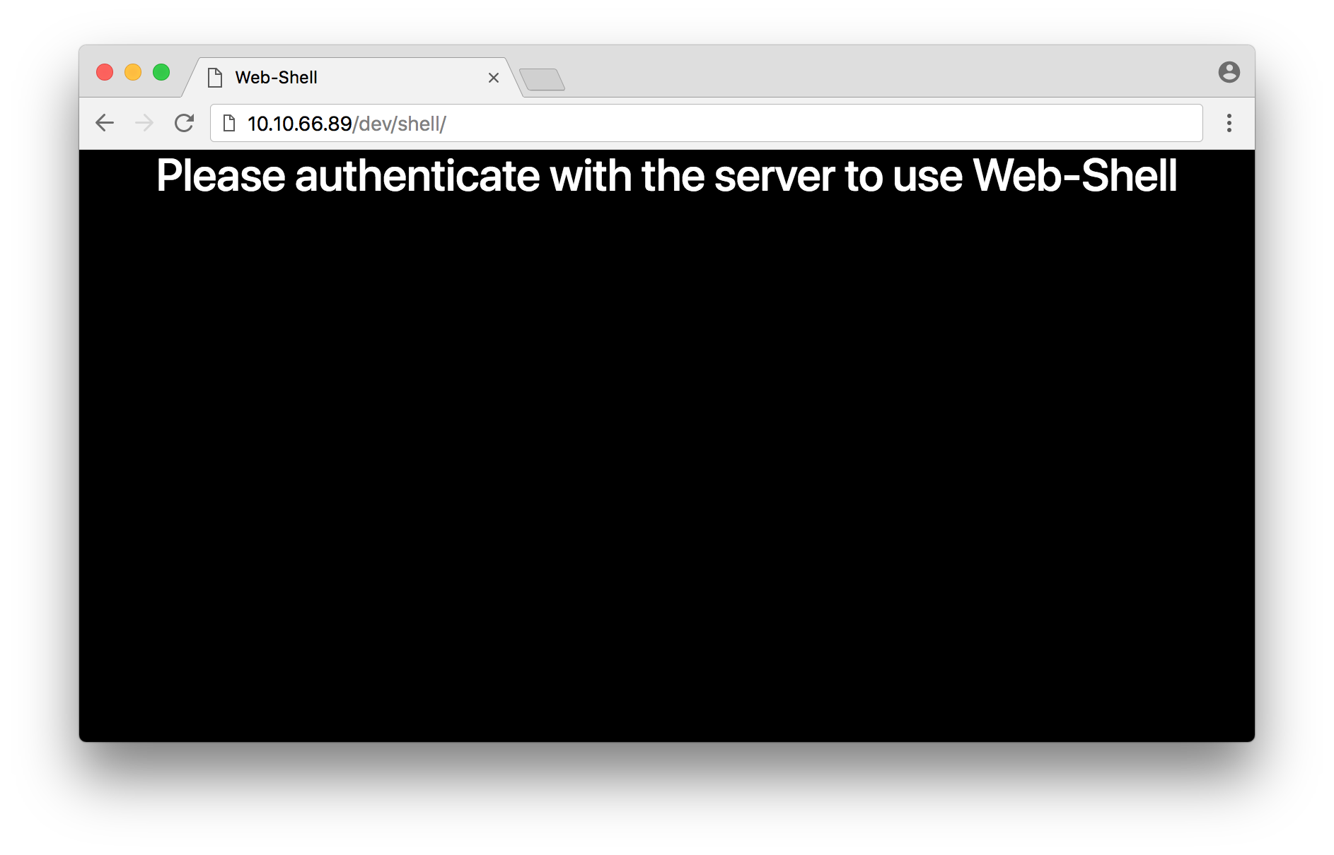 webshell_unauth