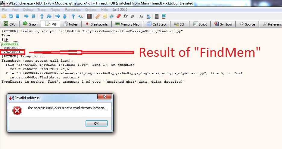 Script help · Issue #38 · x64dbg/x64dbgpy · GitHub