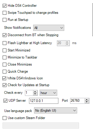 BSOD when changing controller type to DS4