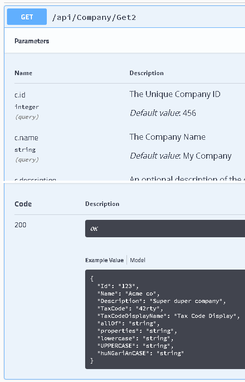 DefaultValueAttribute swagger 2 3 0 doesn't work · Issue
