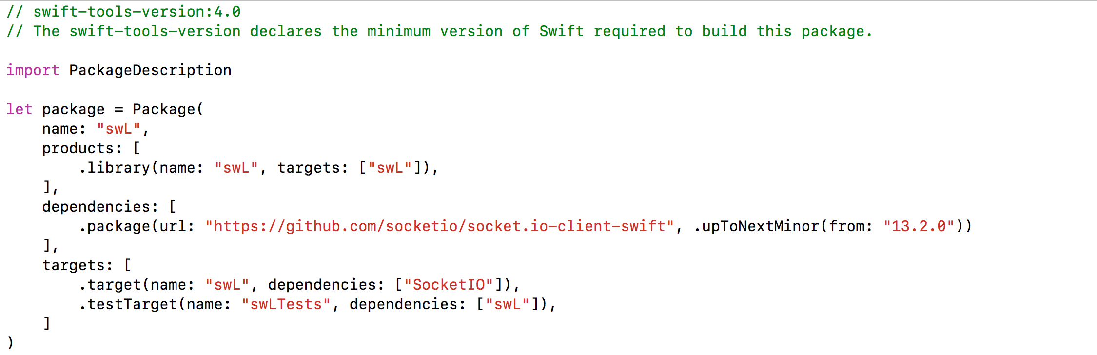 How to use Swift Package Manager? · Issue #1056 · socketio