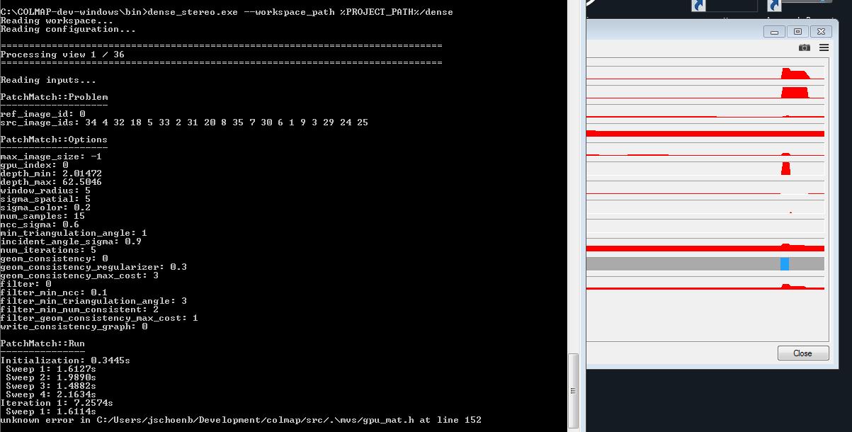 dense_stereo crash gpu driver · Issue #189 · colmap/colmap · GitHub