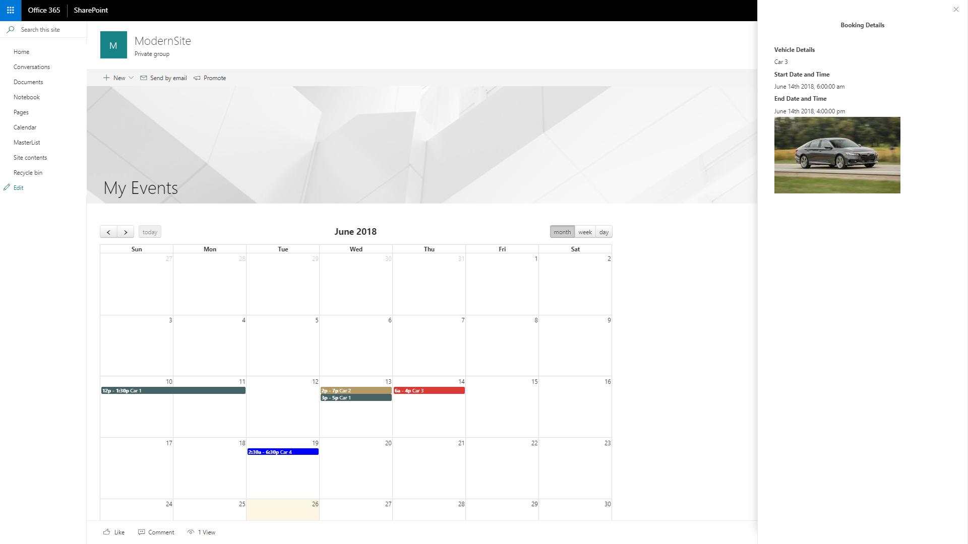 GitHub - garima2510/SPFx-React-FullCalendar-Panel: Demo code for