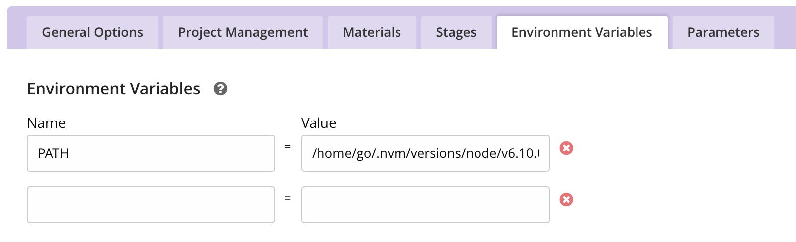 GitHub - benweizhu/gocd-node-docker: GOCD Docker with NodeJS