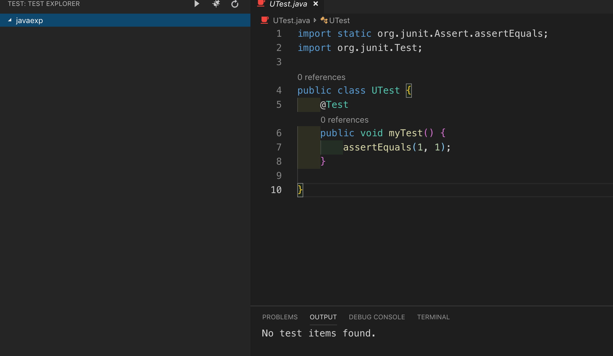 Single File Test Support · Issue #348 · microsoft/vscode