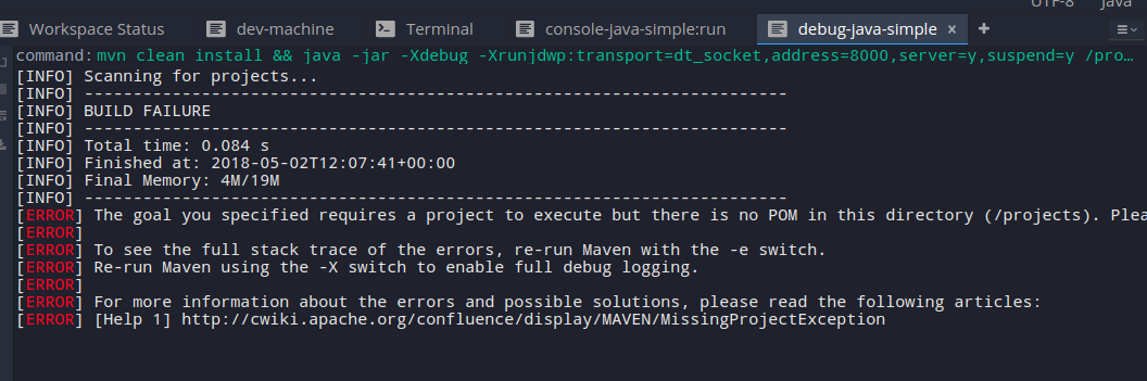 Debugger: Connection refused [SOLVED] · Issue #9552