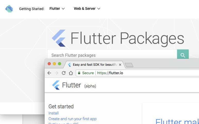Flutter logo color is wrong · Issue #1004 · dart-lang/pub