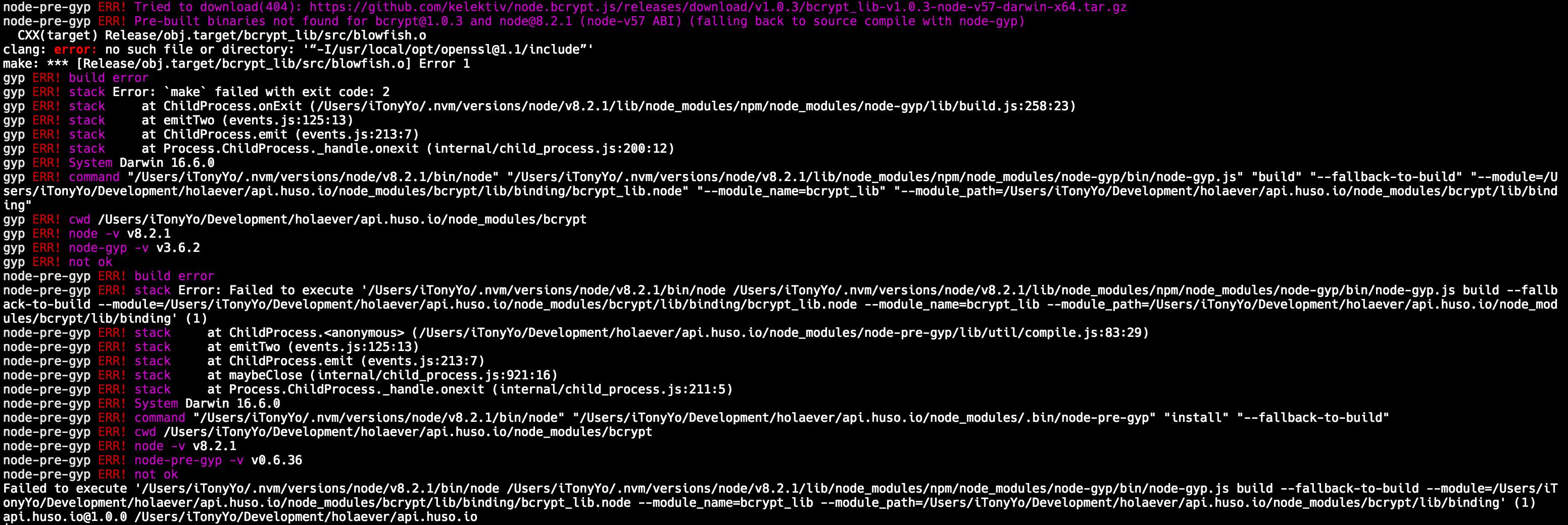 how to install nodejs on ubuntu 16.04 from tar.gz