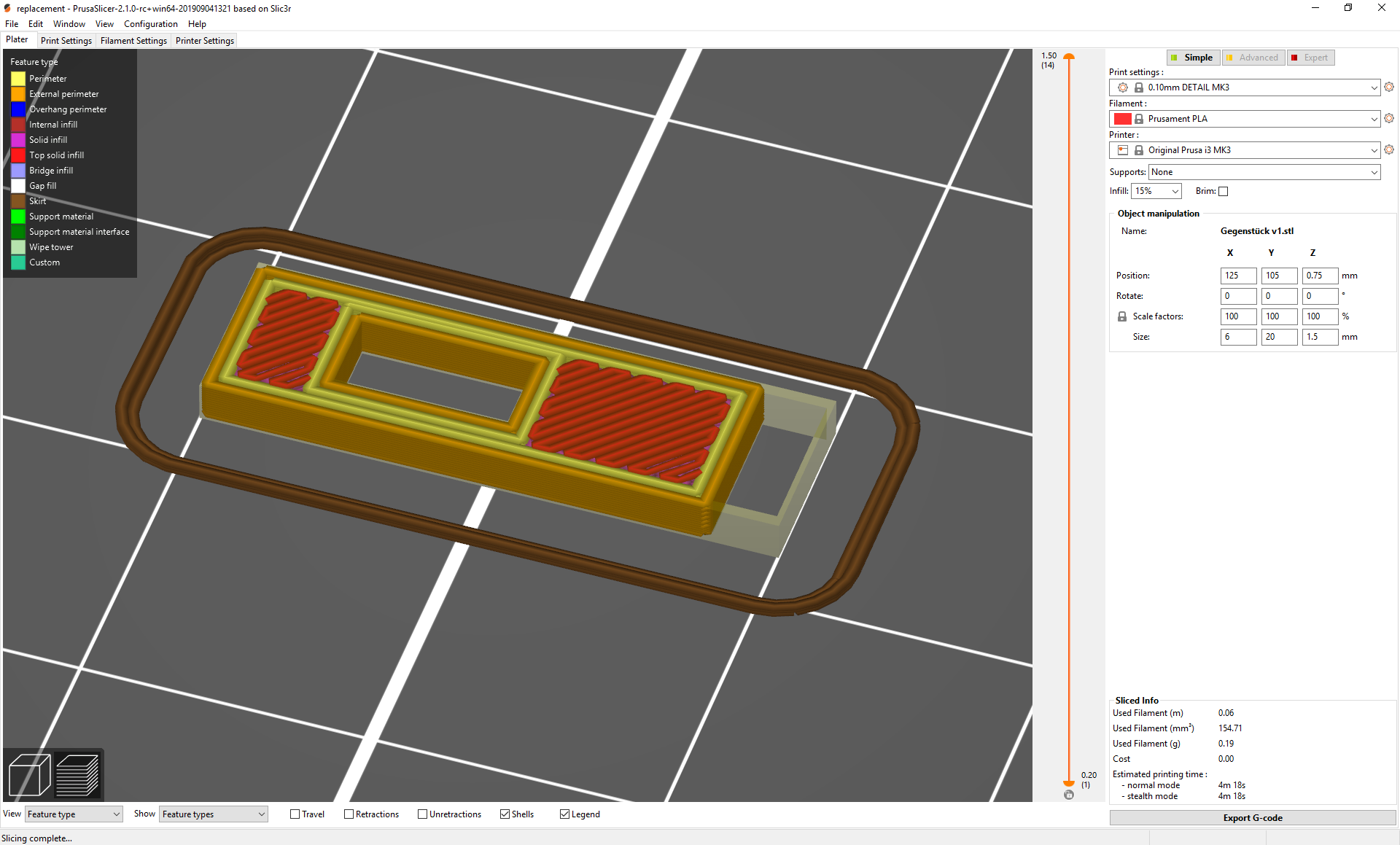 PrusaSlicer is shortening my object · Issue #2881 · prusa3d