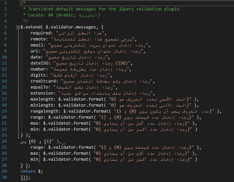 jquery-validation - Bountysource