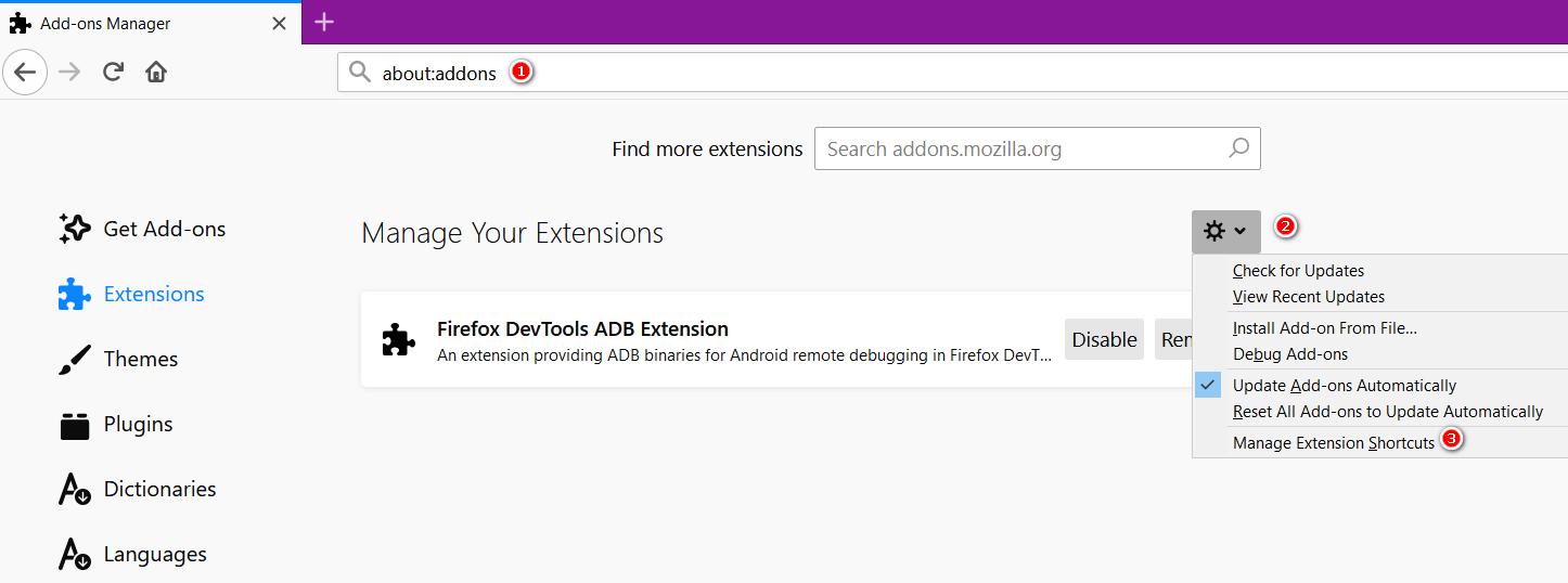 Port to Firefox · Issue #26 · gdh1995/vimium-c · GitHub