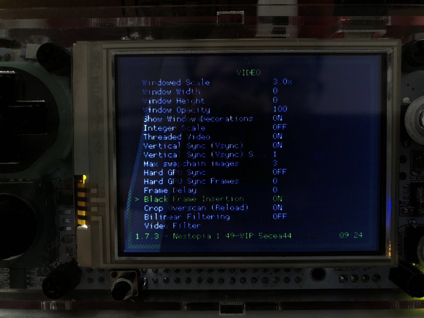 screen tearing when using display_rotate · Issue #837 · raspberrypi