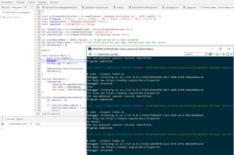 inspect/debug via Chrome Dev Tools fails · Issue #17890