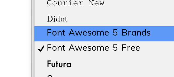 Font does not show up on Apple Pages for Mac font selection