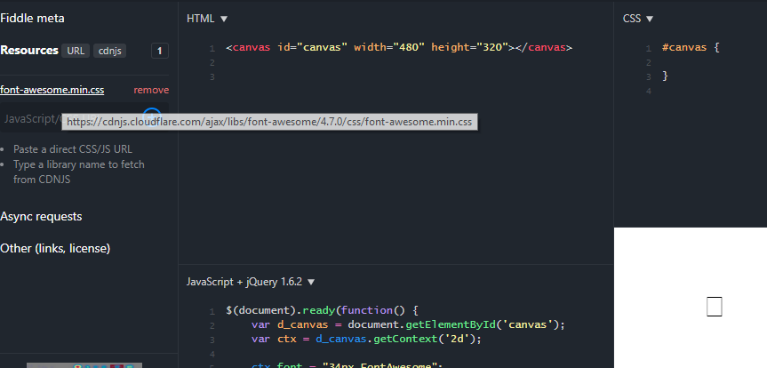 5 0 x not working in JS Canvas  4 7 x and lower works great