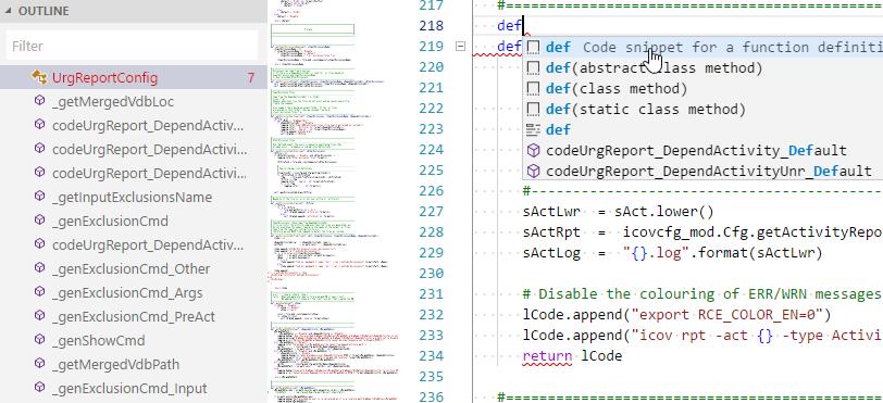 New Language server only displays the top level symbols