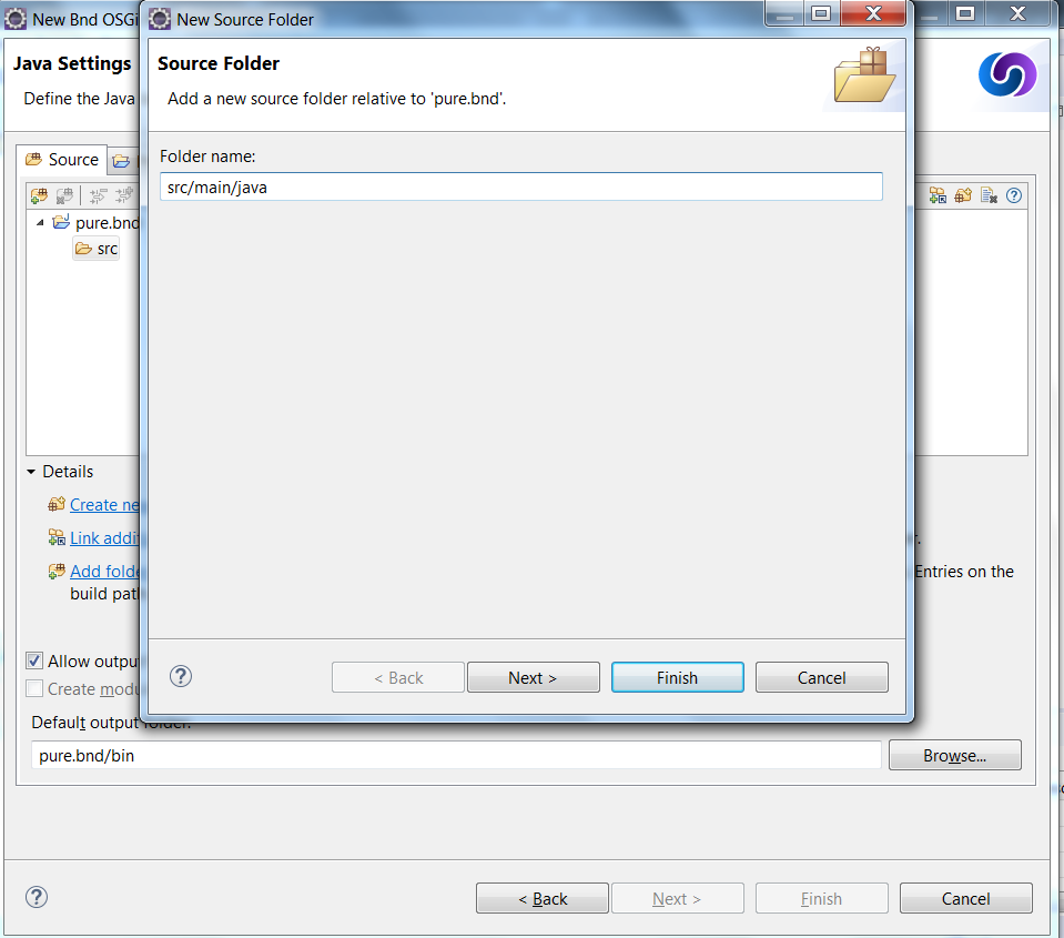 Source folders are resolved incorrectly for projects with