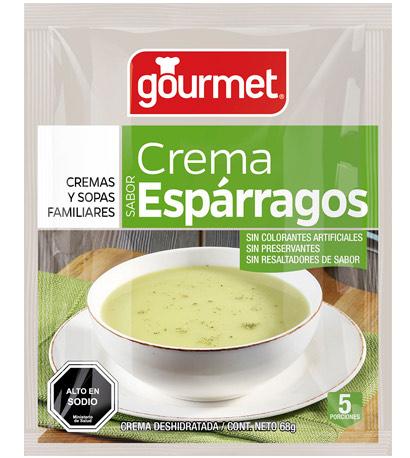crema de esparragos - gourmet