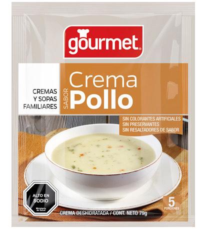 crema de pollo - gourmet
