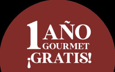1 año de Gourmet gratis