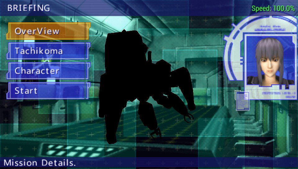 Ghost In The Shell Stand Alone Complex Ulus10020 Black Textures And Missing Screens Issue 12519 Hrydgard Ppsspp Github