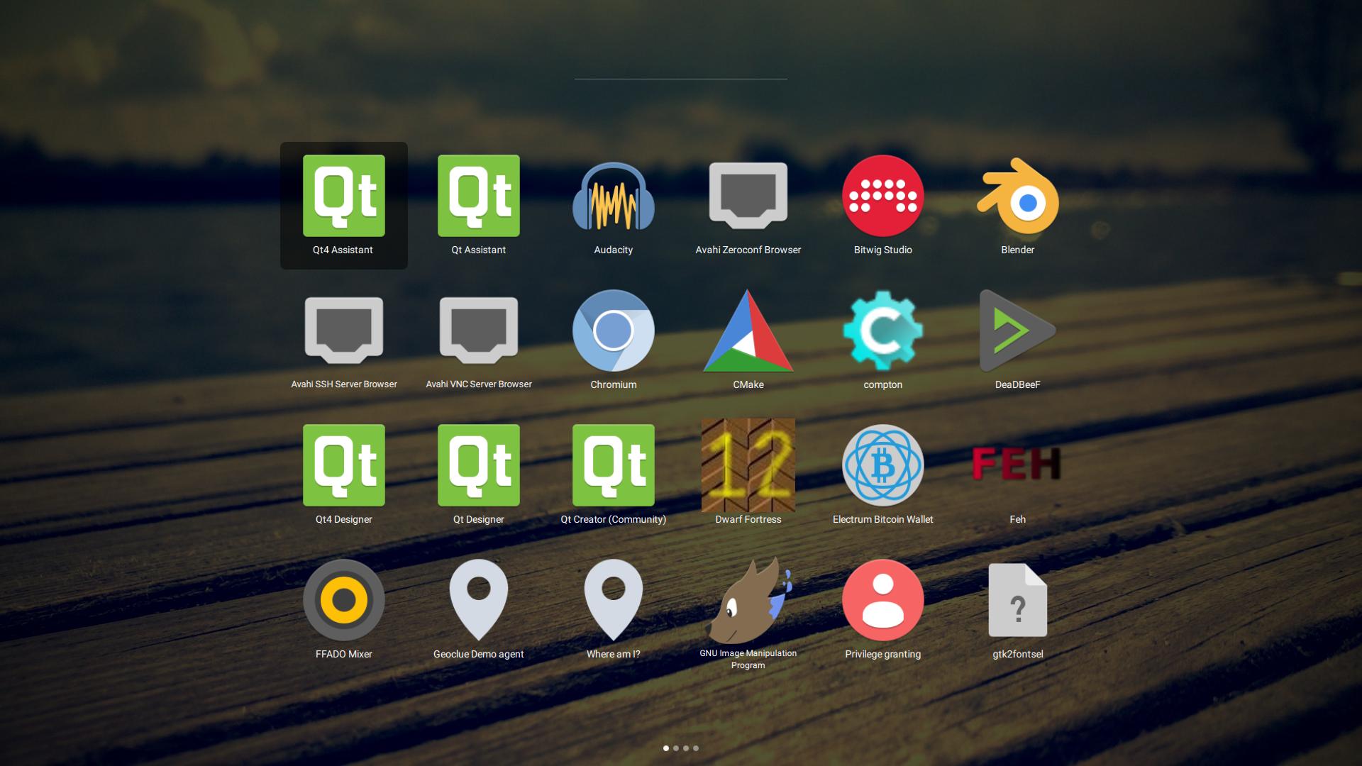 GitHub - alamminsalo/qml-launcher: Desktop application