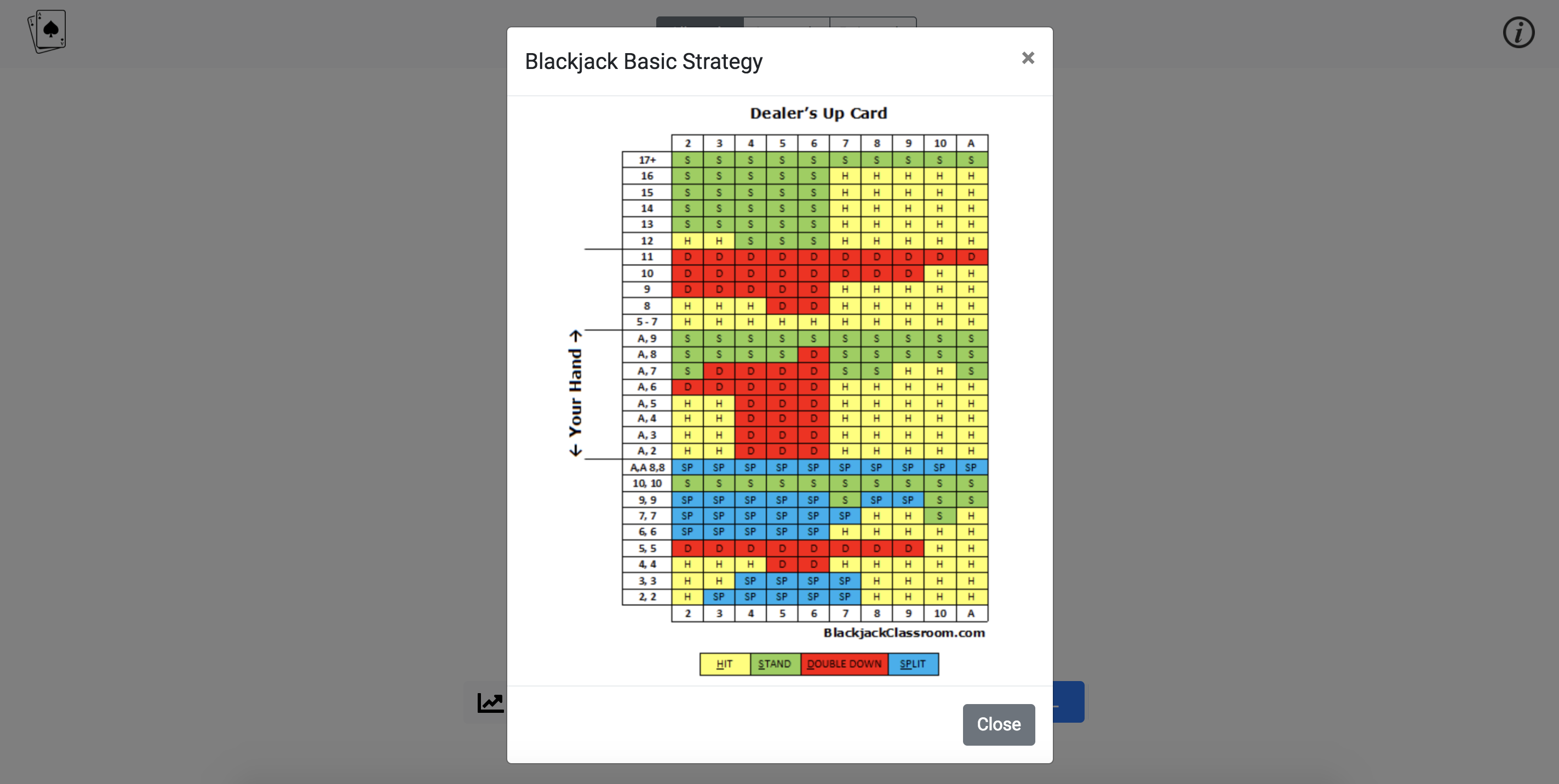 blackjack strategy screenshots - 4