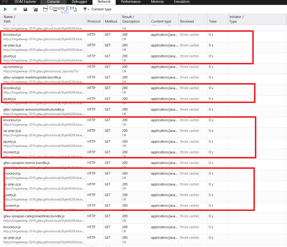 Internet Explorer 11 performance with SPFx · Issue #1438