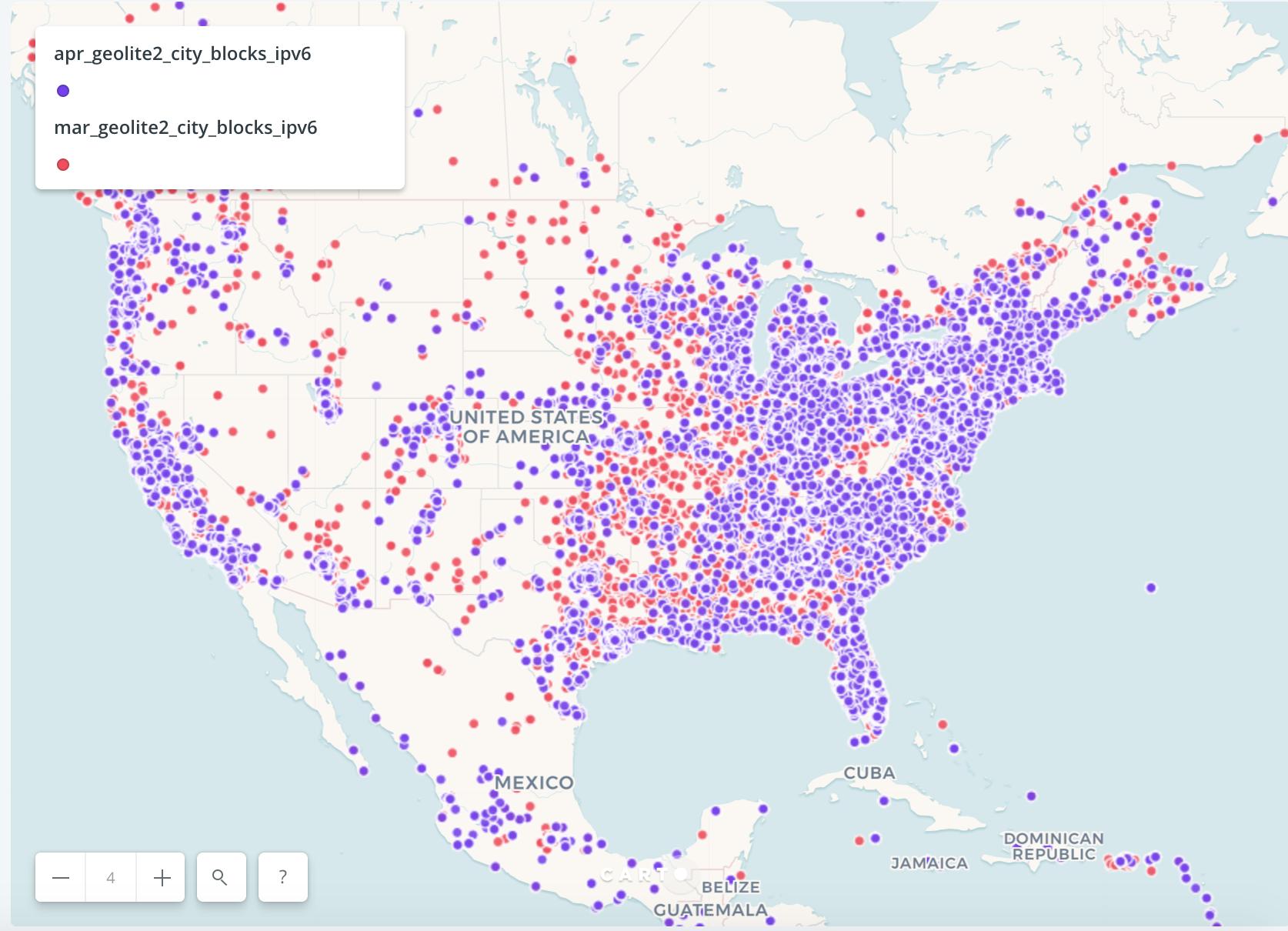 Update IP address database for geocoding · Issue #231