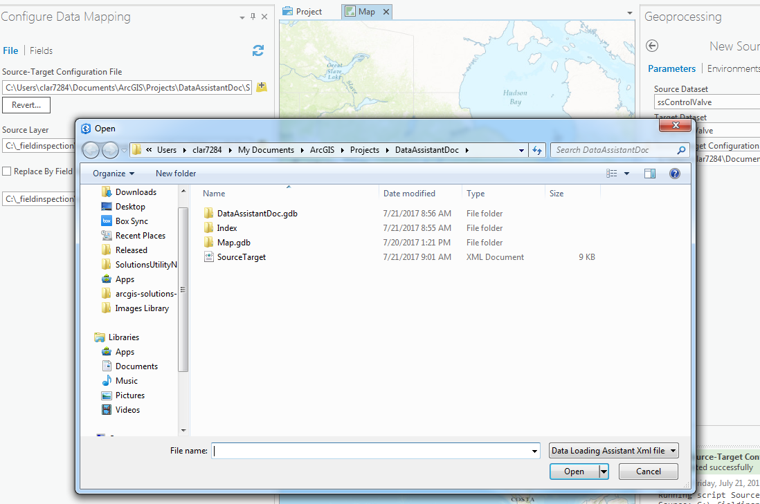 Configure Data Mapper Open Pro Dialog Versus File Explorer Issue - Data mapper c