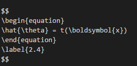 Support for Equation Numbers · Issue #67 · shd101wyy/vscode