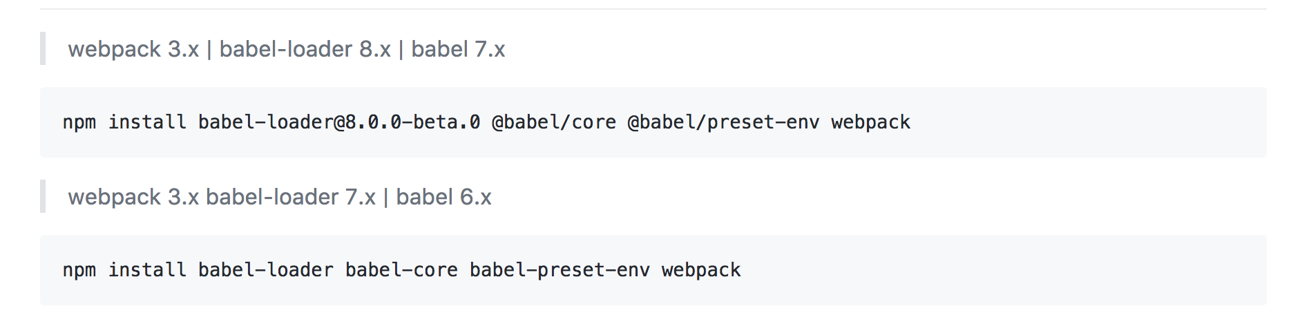 Developers - Babel use with objects failing -