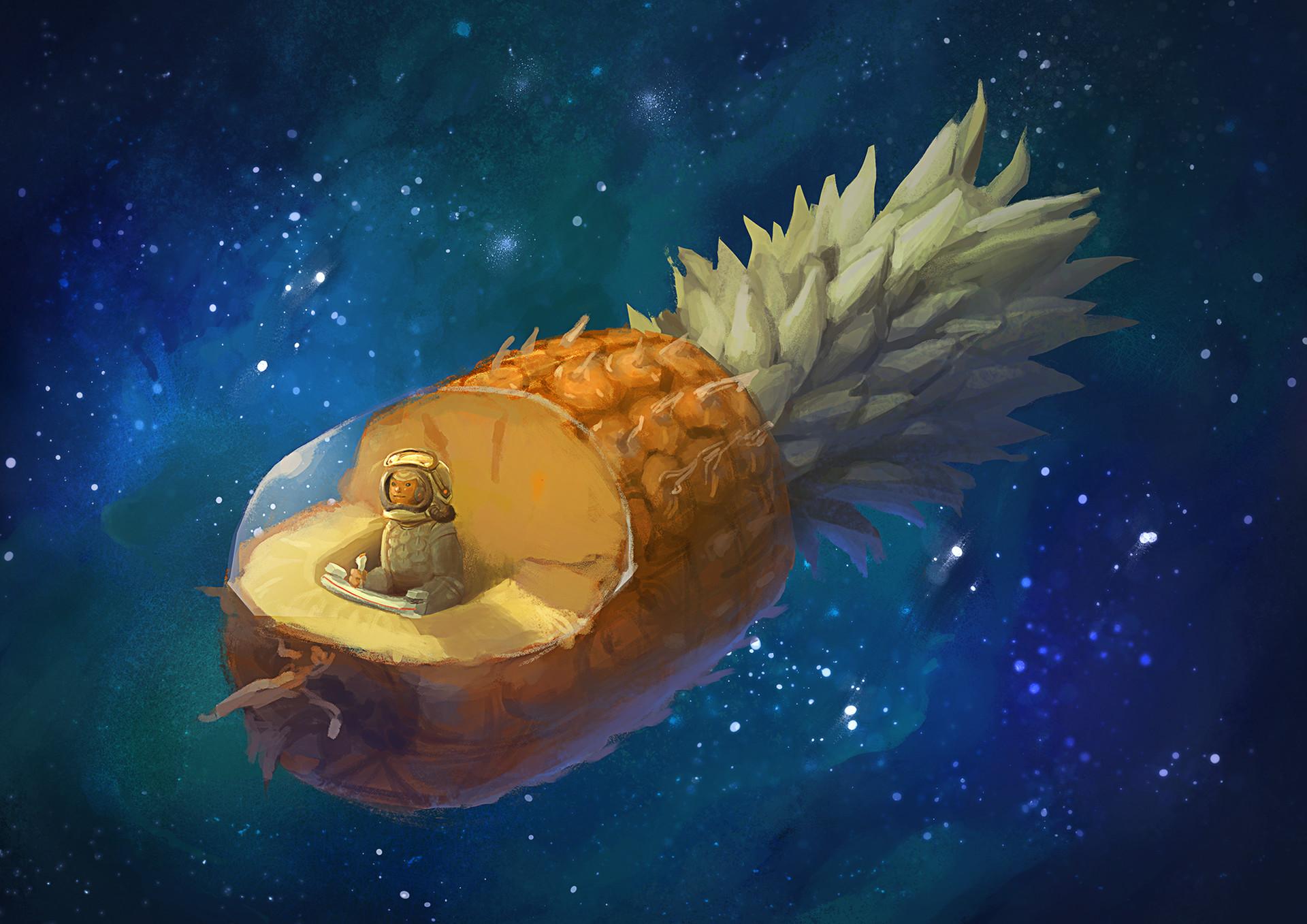 inna-hansen-pinaple-spaceship