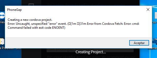 Phonegap ENOENT error on ##phonegap desktop version · Issue
