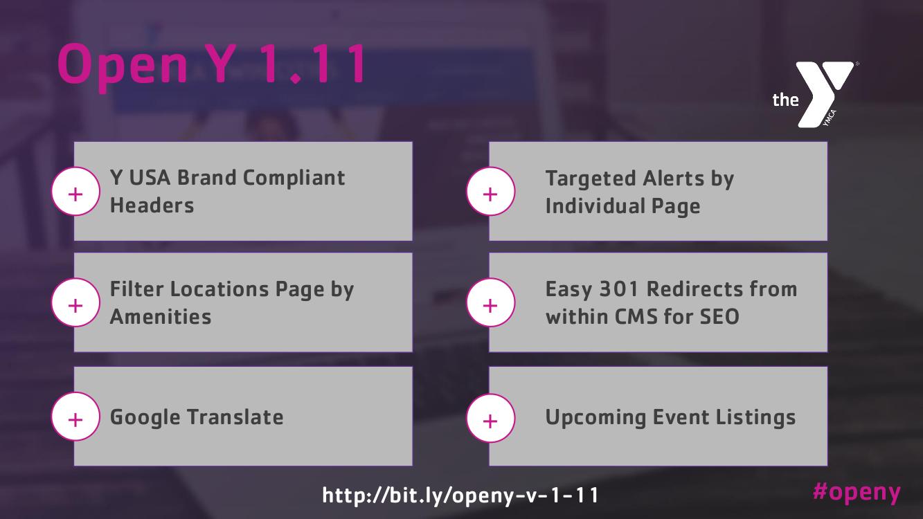 OpenY version 8.1.11