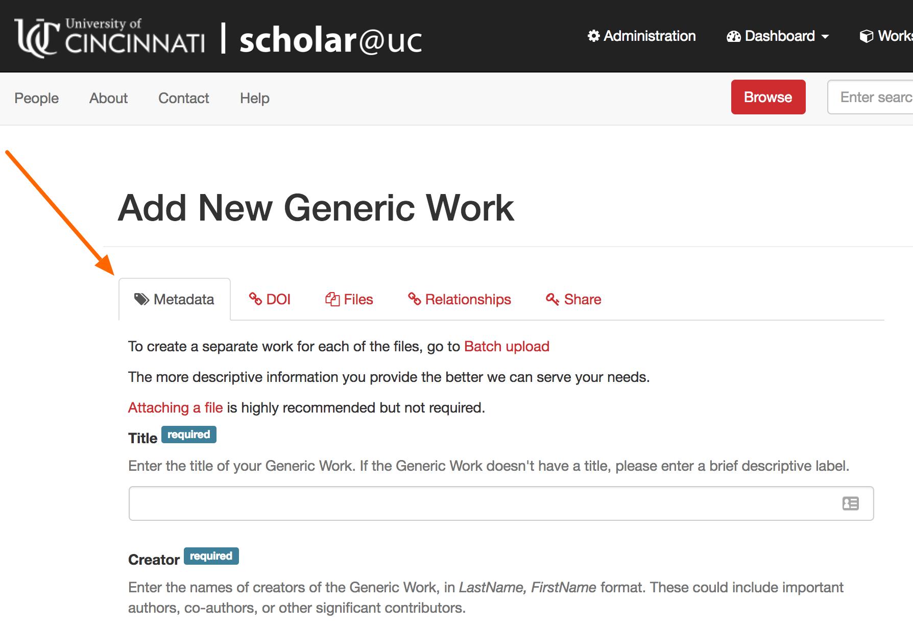 new generic work scholar uc